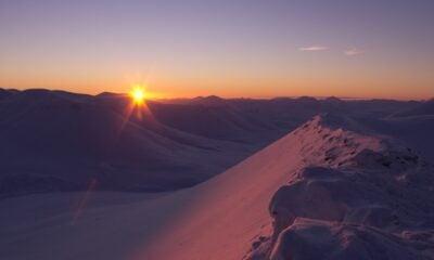 Svalbard sunrise