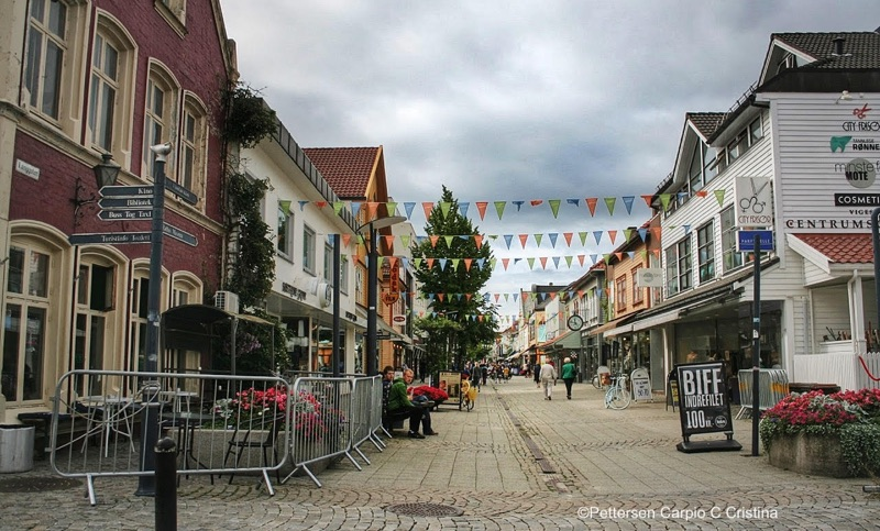 Sandnes city centre