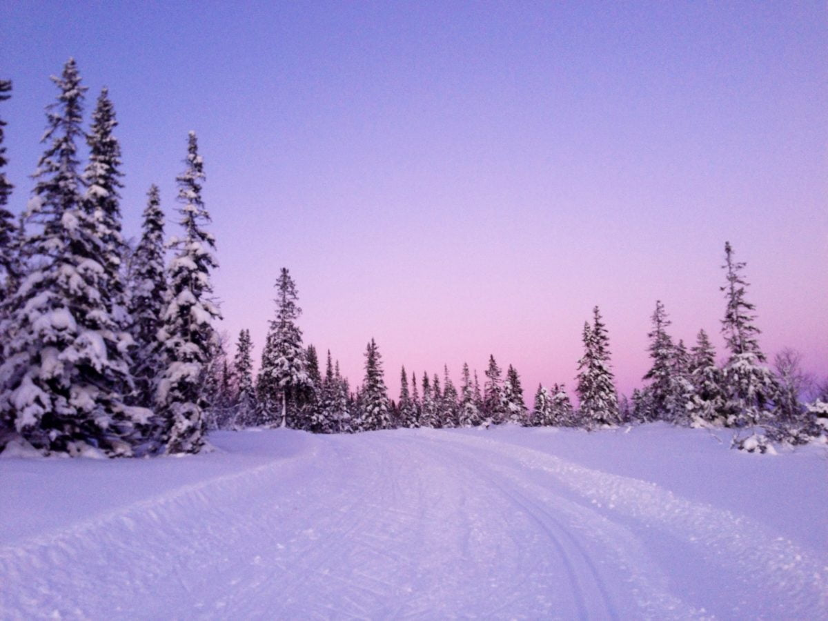 Norway. How to live in the snowy outback 49