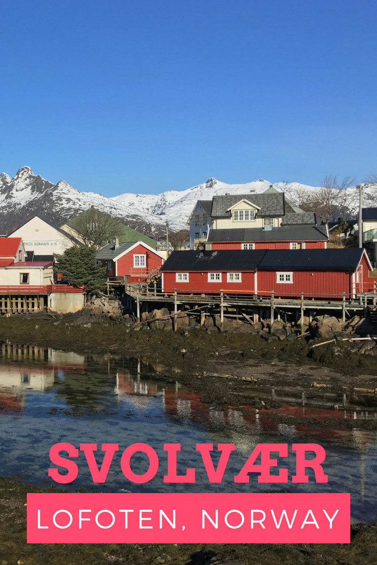 A view of Svolvær, Norway