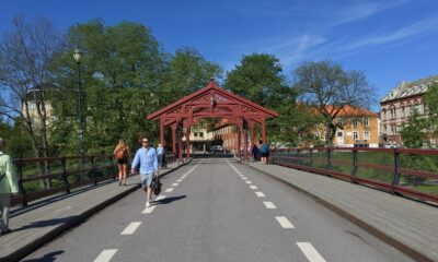 Trondheim Old City Bridge