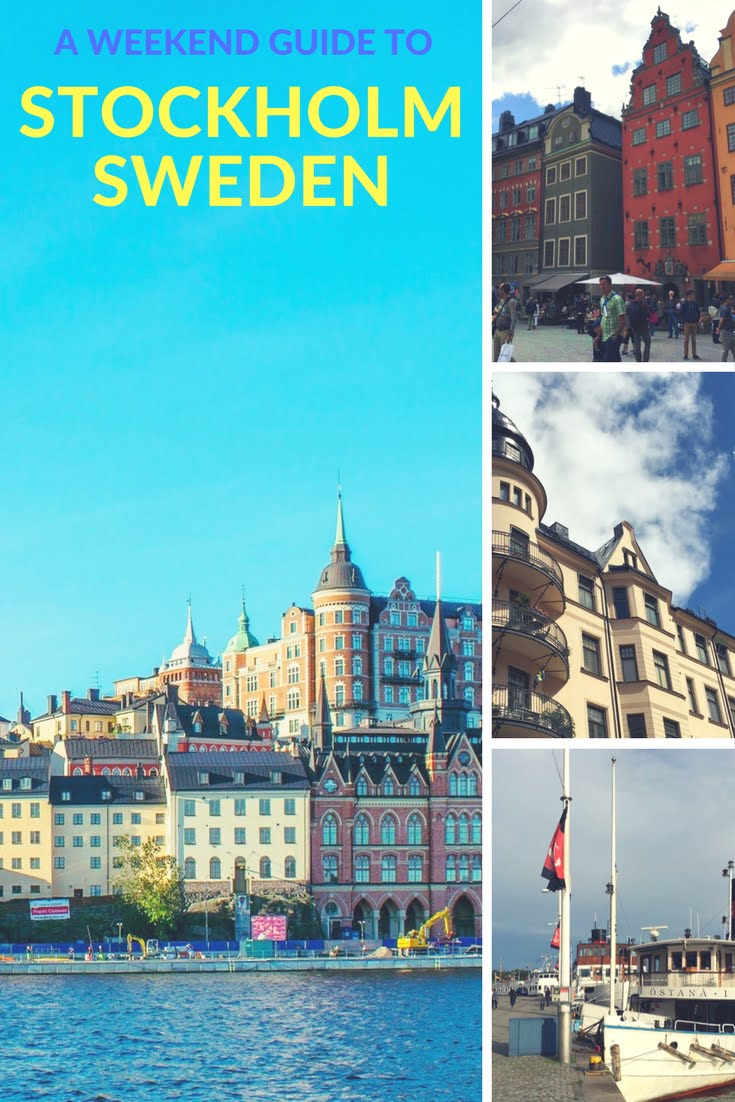 A Weekend Guide to Stockholm, Sweden: The Swedish capital is a fantastic destination for a weekend break.