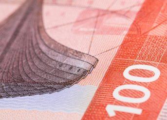 New Norwegian 100 krone note