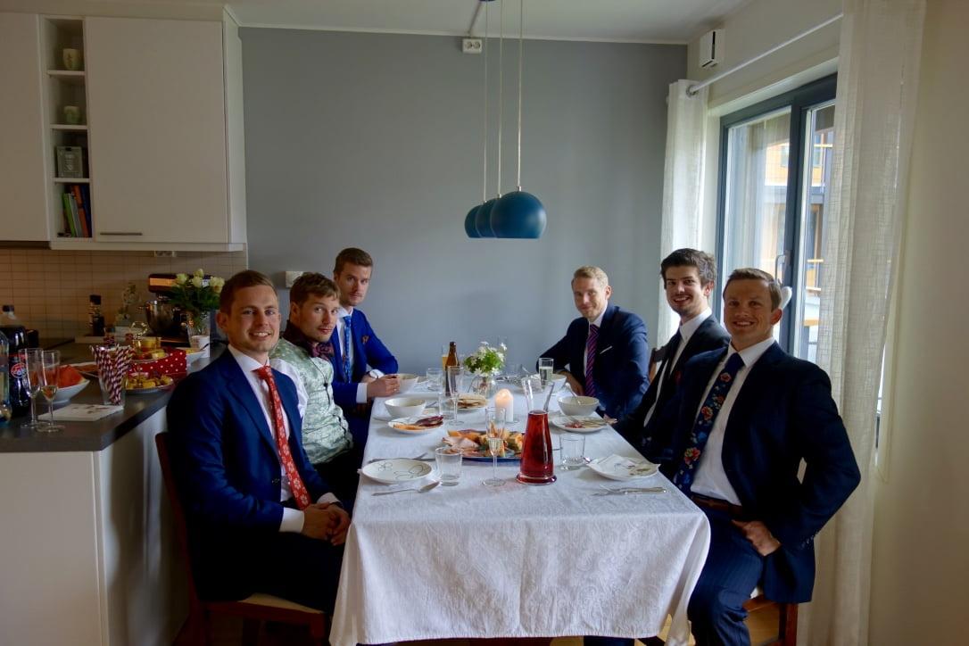 Norwegian friends