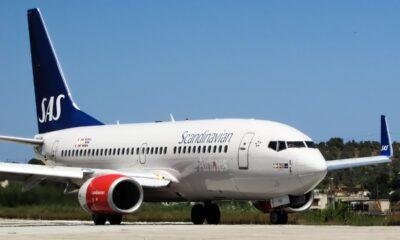 SAS Scandinavian Airlines jet