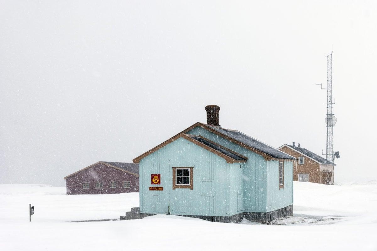Researchers on Svalbard