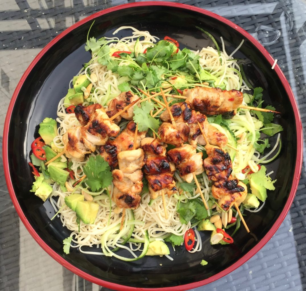 Chilli Chicken Noodle Salad