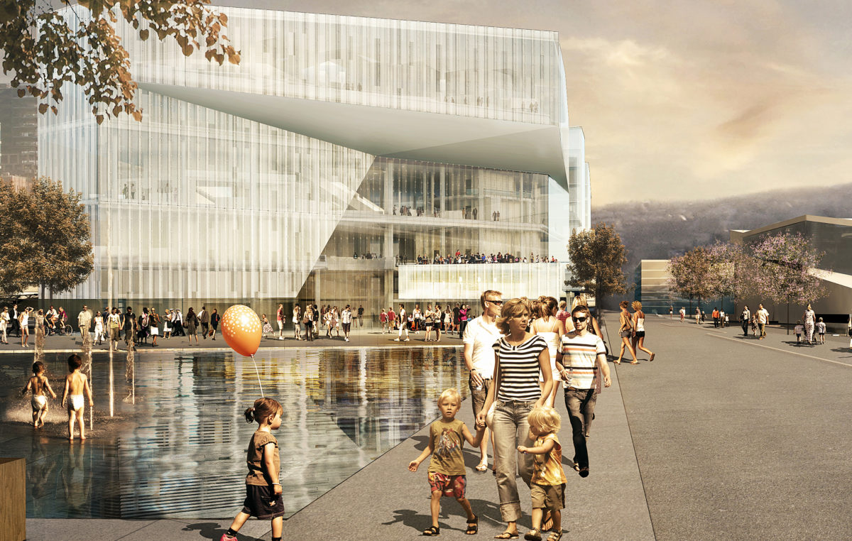Deichman library Oslo