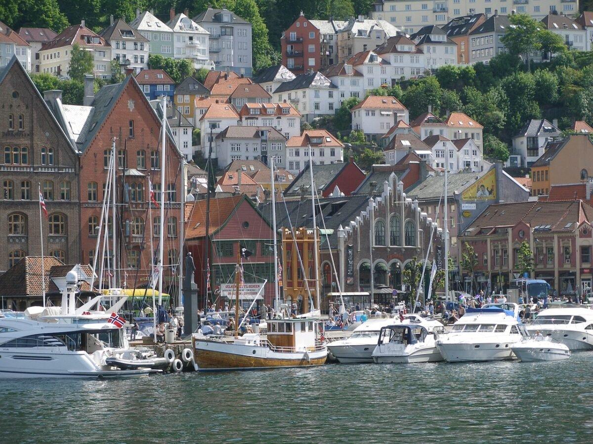 Harbour in Bergen