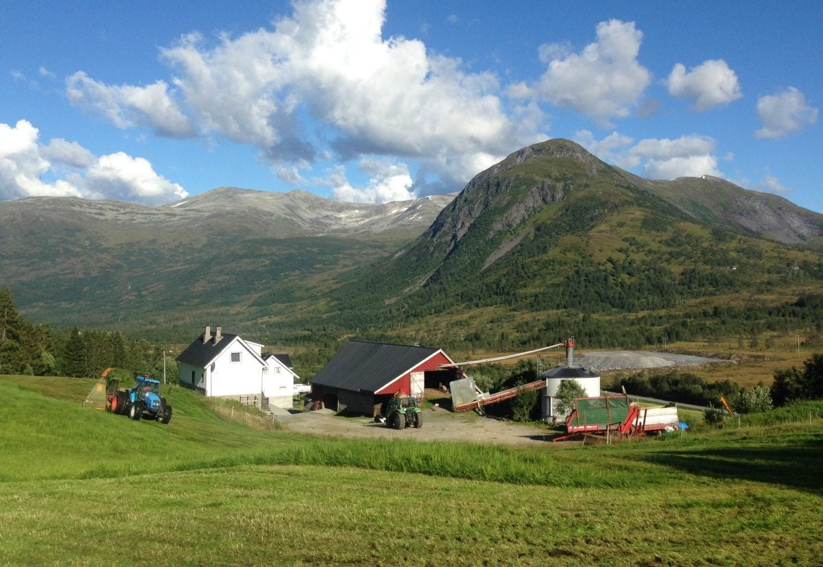 Farm in Norway