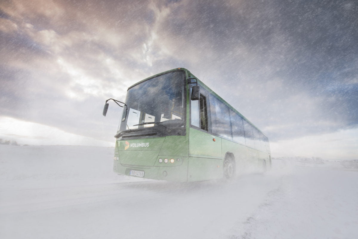 Kolumbus winter bus service