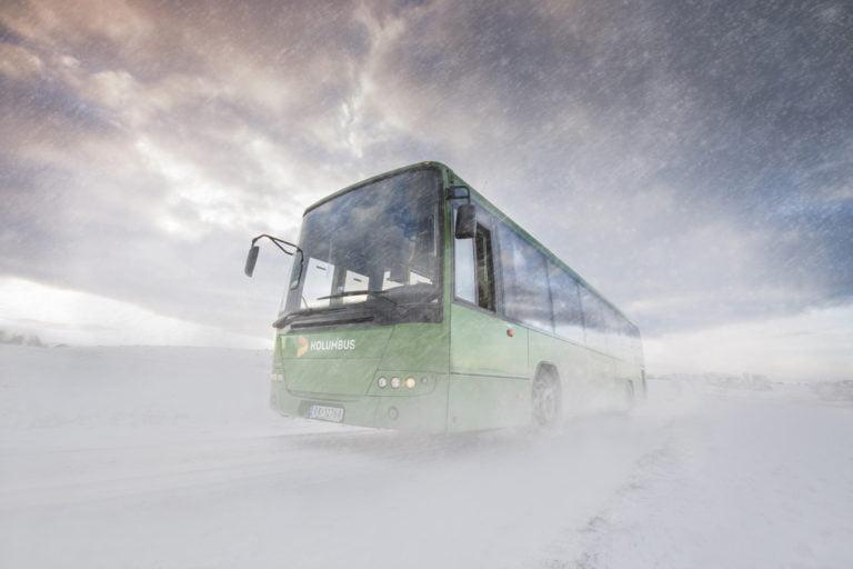 Kolumbus winter bus service