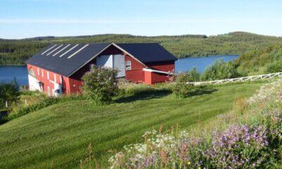 Landåsen farm in Landåsbygda