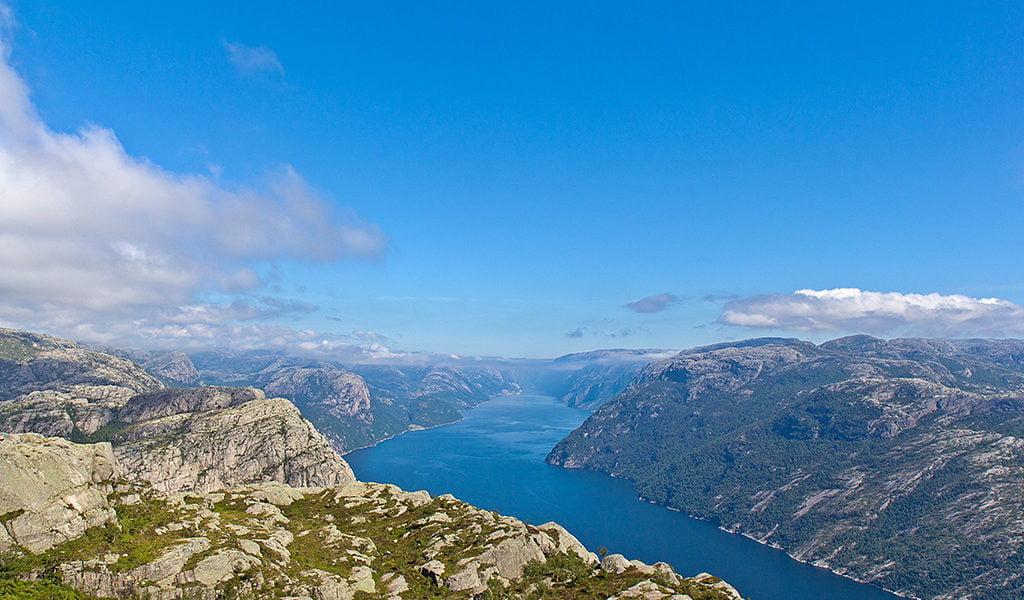 Lysefjord near Stavanger