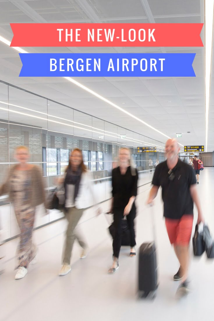 The new-look Bergen airport provides a much improved welcome to Norway for international travellers.