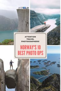 Is Norway the world's most photogenic country? Here are the 10 best travel photo opportunities.