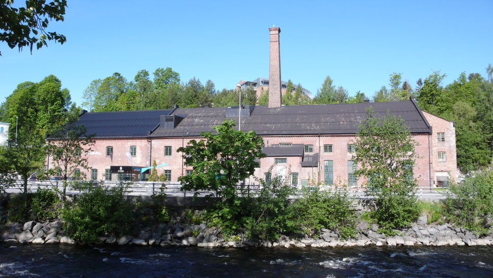 The regional Vitensenteret Innlandet (science centre) in Gjøvik, housed in the former glassworks and distillery factory.