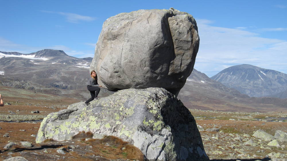 Playing around on Valdresflya in Jotunheimen national park
