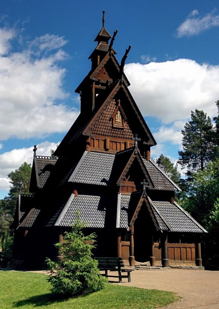 Folklore of Norway: Gol Stave Church