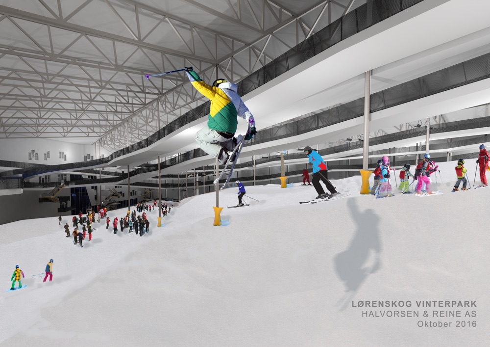 Indoor ski centre