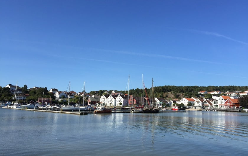 The Lillesand coastline