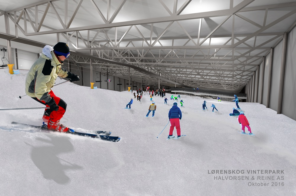 New indoor ski arena