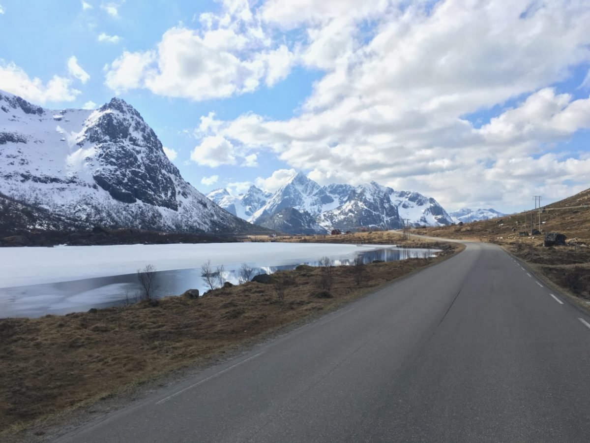 A road trip in Lofoten Norway