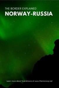 Norway-Russia Border pin