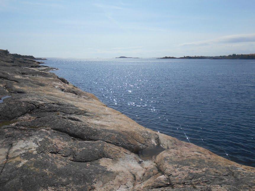 Bragdøy coastline