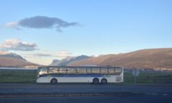 Public bus in Tromsø