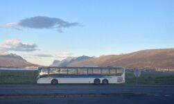 Public bus in Tromsø