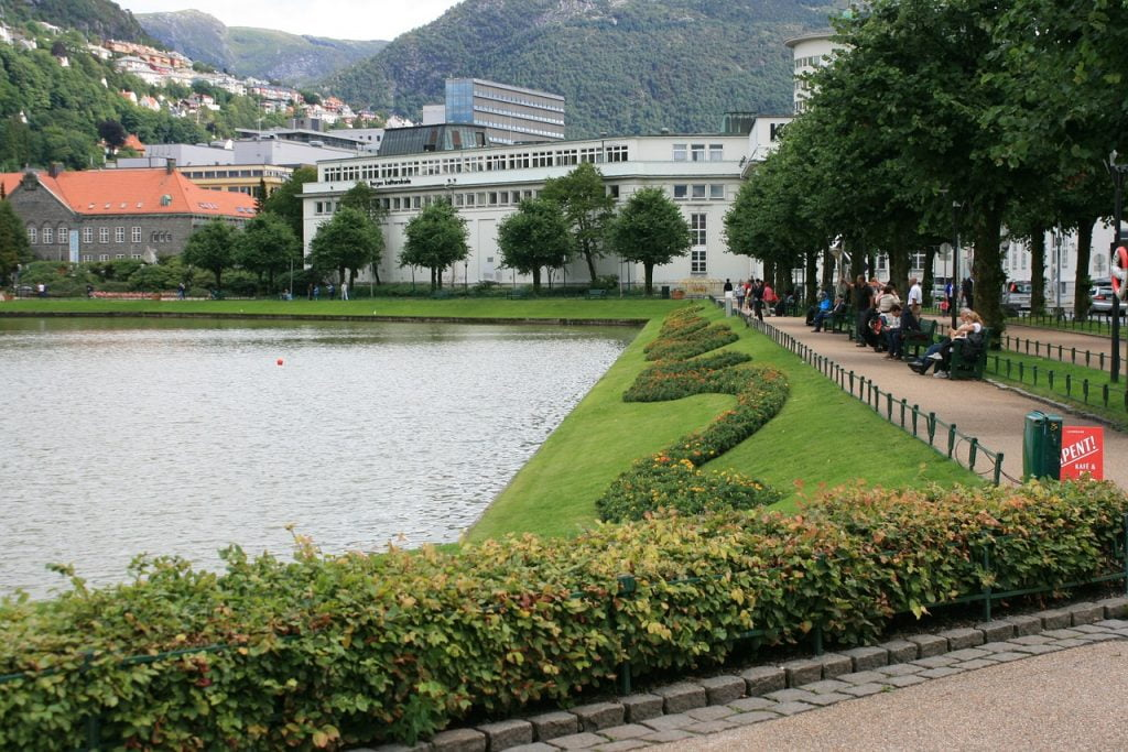 City Lake of Bergen