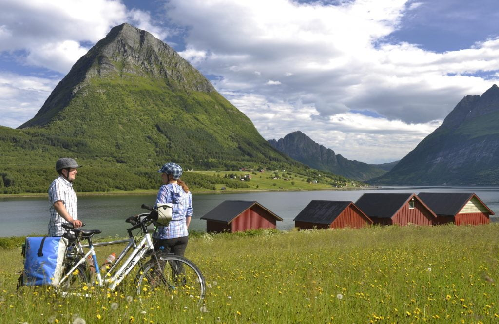 Coastal cycling in Norway