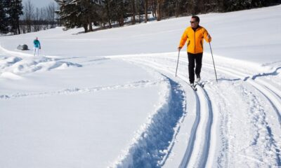 Cross-country skiing trails in Norway