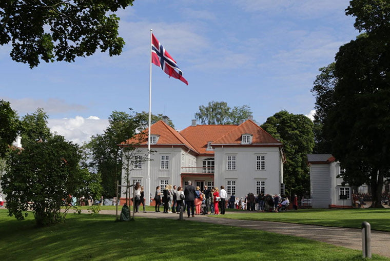 An event at Norway's Eidsvoll House