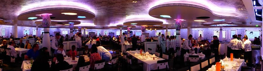 Dining on the Frozen cruise