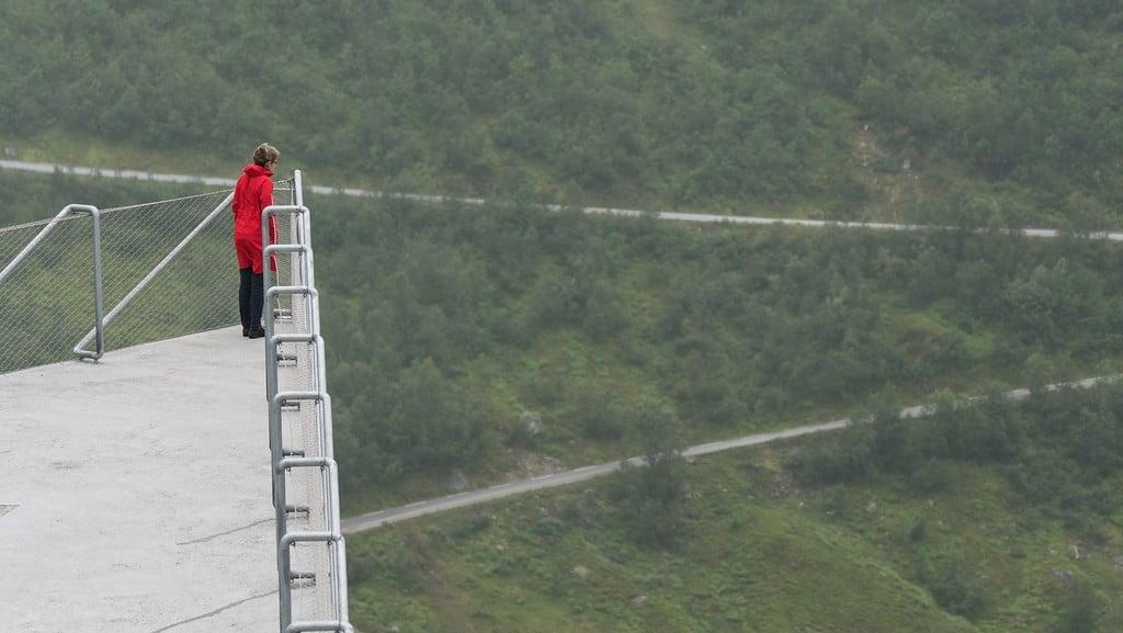 Utsikten viewpoint at Gaularfjellet
