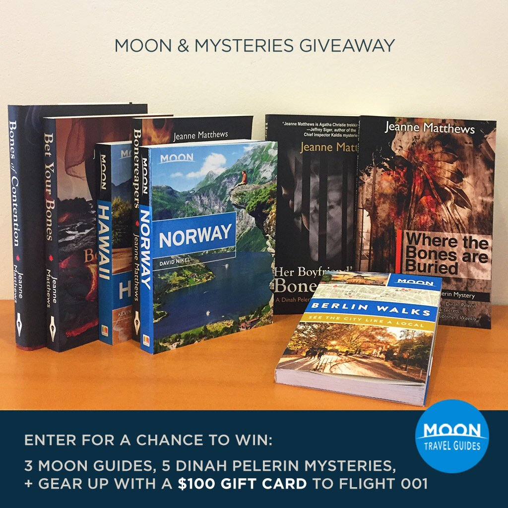 Moon Mystery Giveaway