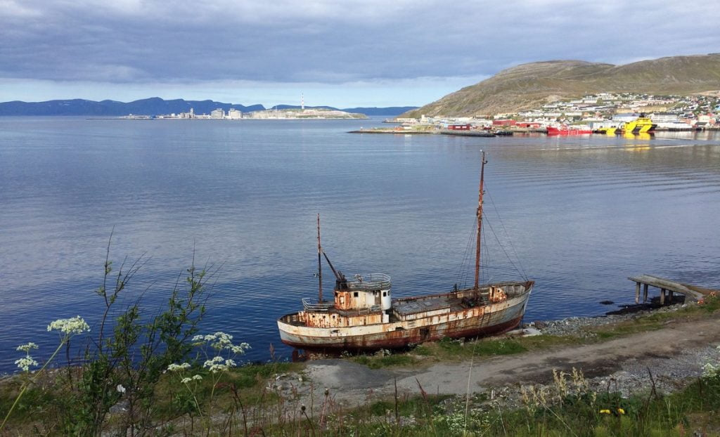 Harbour at Hammerfest