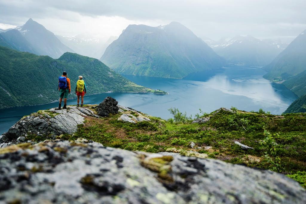 Hiking the Hjørundfjord
