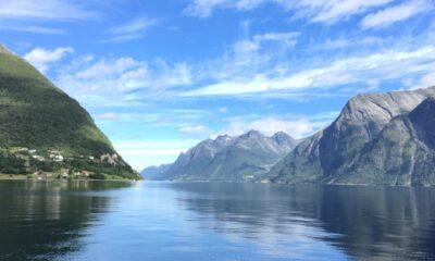Hjørundfjord in Norway
