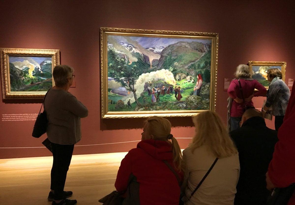 Inside Bergen Art Museum