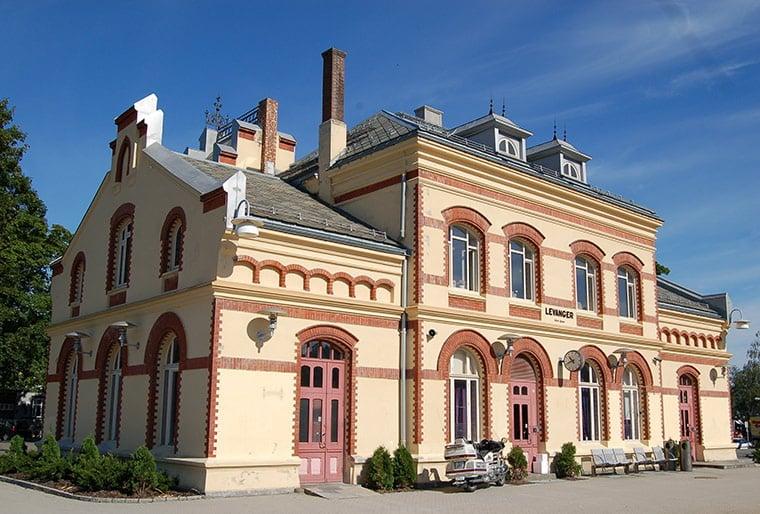 Levanger railway station