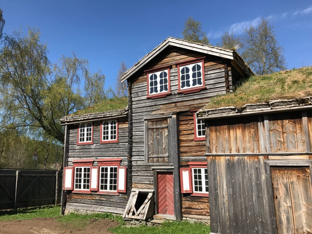 Old mining house