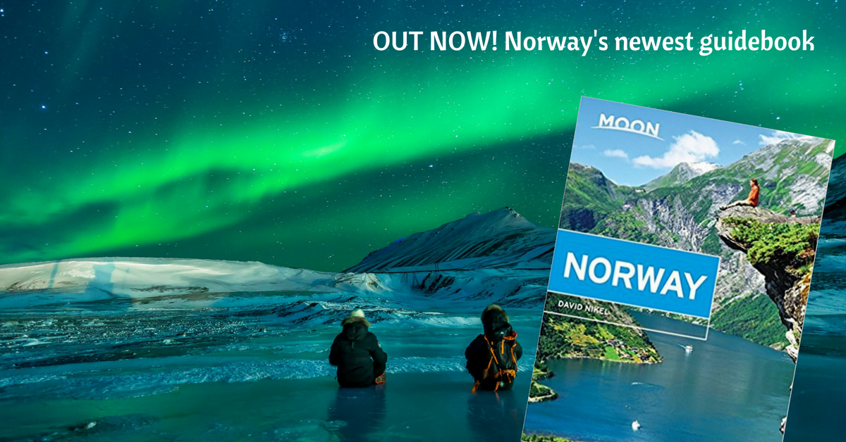 Moon Norway travel guidebook cover