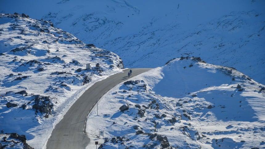 Dalsnibba mountain road near Geiranger