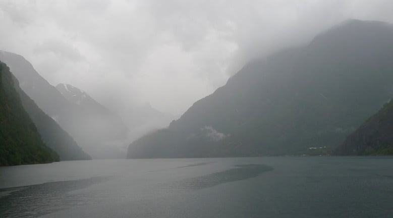 On the Nærøyfjord