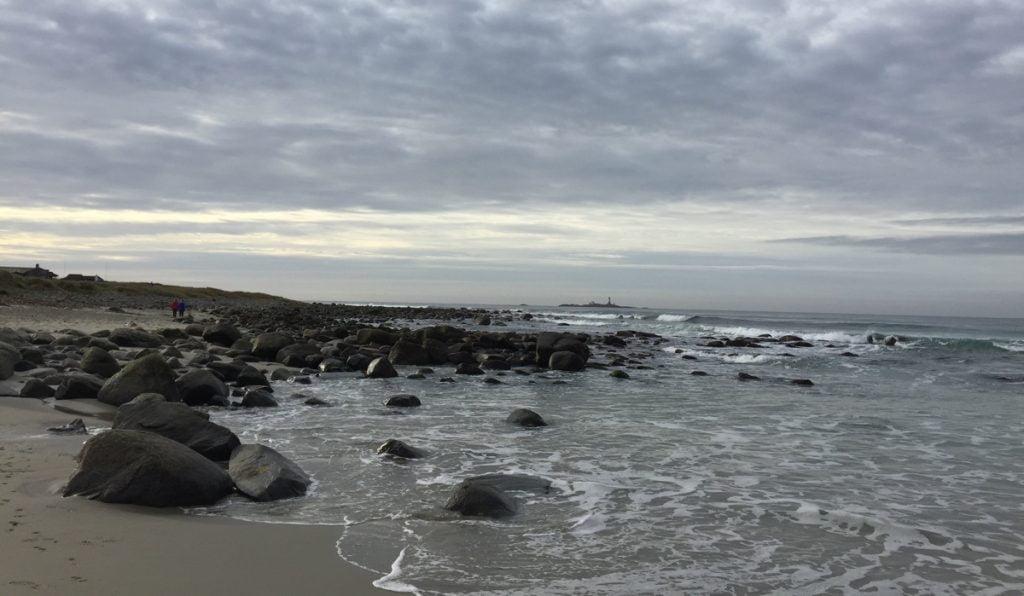 Rocks on a beach near Stavanger, Norway