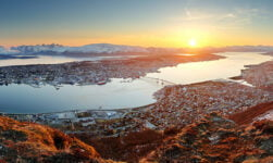 Panorama of Tromsø, northern Norway