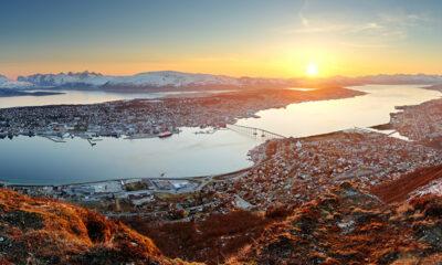 Panorama of Tromsø, northern Norway